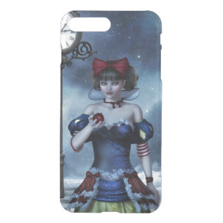 Coque iPhone 7 Plus Grunge de blanc de neige