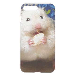 Coque iPhone 7 Plus Hamster syrien pelucheux Kokolinka mangeant une
