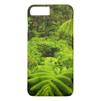 Coque iPhone 7 Plus Hawaï, grande île, verdure tropicale luxuriante