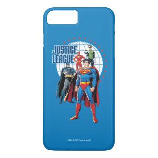 Coque iPhone 7 Plus Héros globaux de ligue de justice