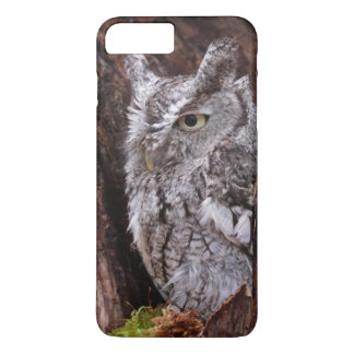 Coque iPhone 7 Plus Hibou de cri strident somnolent