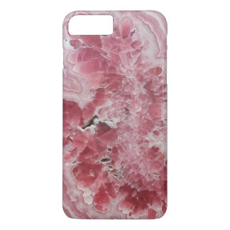 Coque iPhone 7 Plus Hippie en cristal de photo de gemme de geode de