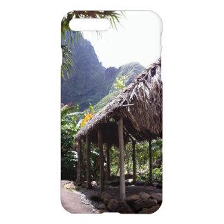 Coque iPhone 7 Plus Hutte d'herbe en parc d'état de vallée d'Iao,