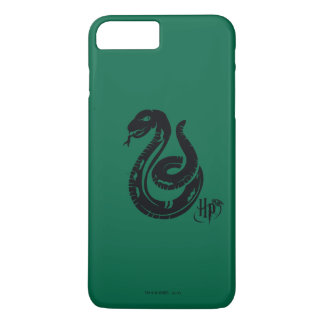 Coque iPhone 7 Plus Icône de serpent de Harry Potter | Slytherin