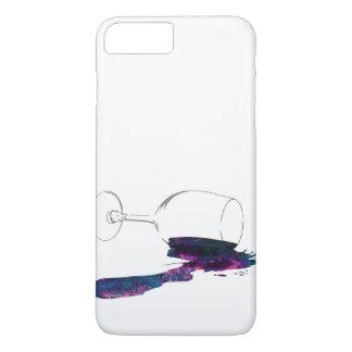 Coque iPhone 7 Plus Il jette avec Galaxie Renversée