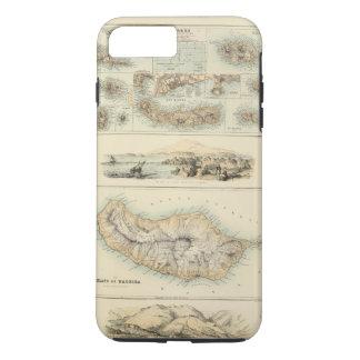 Coque iPhone 7 Plus Îles portugaises dans l'Océan Atlantique