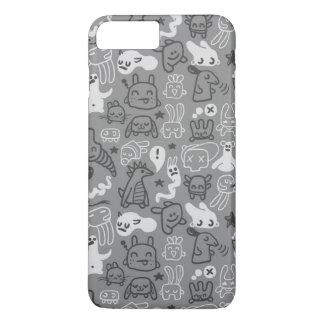 Coque iPhone 7 Plus illustration de motif de griffonnages