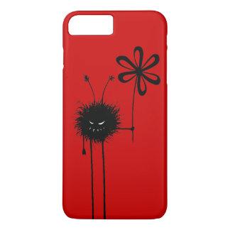 Coque iPhone 7 Plus Insecte mauvais rouge personnalisable de fleur