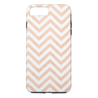 Coque iPhone 7 Plus iPhone blanc 7 de chevrons de pêche plus, dur