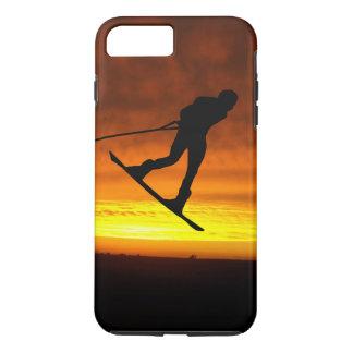 Coque iPhone 7 Plus iPhone de coucher du soleil de Wakeboard 8 Plus/7