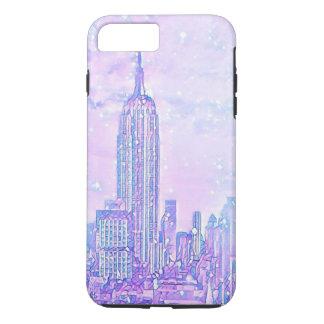 Coque iPhone 7 Plus iPhone de la vie de ville 8 Plus/7 plus le cas