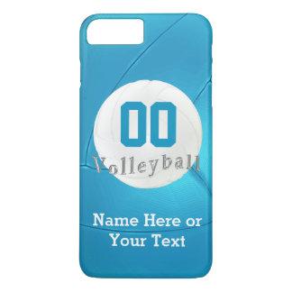 Coque iPhone 7 Plus iPhone de volleyball 7 cas PLUS avec le nombre,