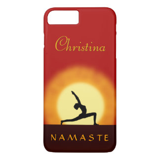 Coque iPhone 7 Plus iPhone mince 7 de Namaste de pose de lever de