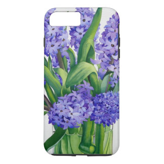 Coque iPhone 7 Plus Jacinthes bleues