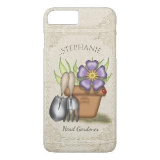 Coque iPhone 7 Plus Jardinage mignon d'été