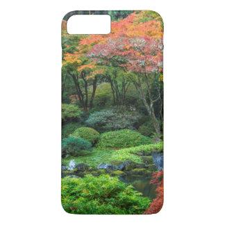Coque iPhone 7 Plus Jardins japonais en automne à Portland, Orégon 3