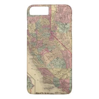 Coque iPhone 7 Plus La Californie, Nevada