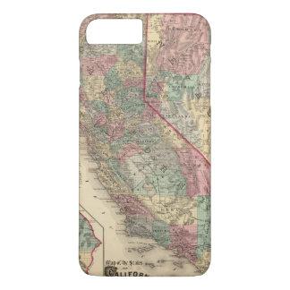 Coque iPhone 7 Plus La Californie, Nevada 2