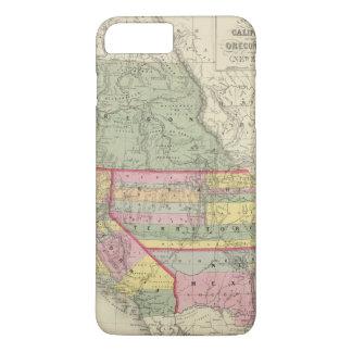 Coque iPhone 7 Plus La Californie, Orégon, Utah, Nouveau Mexique 2