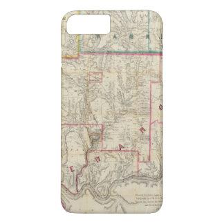 Coque iPhone 7 Plus La carte de Howe du secteur d'huile de la