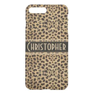 Coque iPhone 7 Plus La copie de peau de tache de léopard