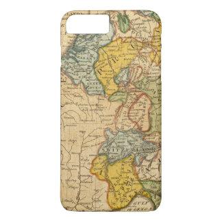 Coque iPhone 7 Plus La France, Allemagne, Pays-Bas, Suisse