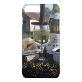 Coque iPhone 7 Plus La France, Bourgogne, Chablis. Vin du pays et