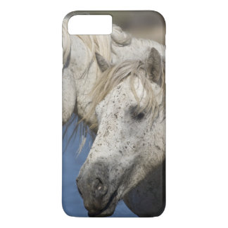 Coque iPhone 7 Plus La France, Camargue. Chevaux courus par