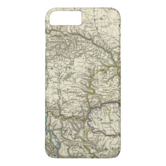 Coque iPhone 7 Plus La Hongrie et son par voie de terre du