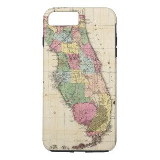 Coque iPhone 7 Plus La nouvelle carte Drew's de l'État de Floride