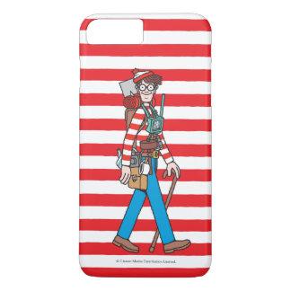 Coque iPhone 7 Plus Là où est Waldo avec tout son équipement