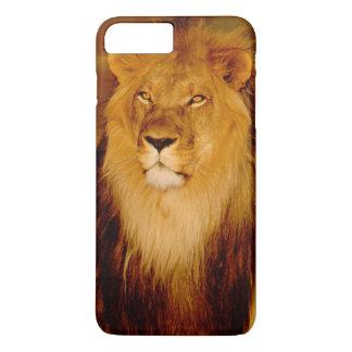 Coque iPhone 7 Plus L'Afrique, Namibie, Okonjima. Lion masculin
