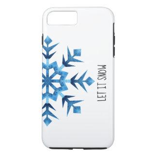 """Coque iPhone 7 Plus """"Laissez-le neiger"""" cas de téléphone"""