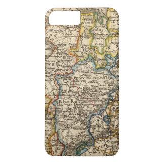 Coque iPhone 7 Plus L'Allemagne, le Pays-Bas, et la Belgique