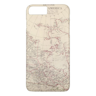 Coque iPhone 7 Plus L'Amérique du Nord britannique