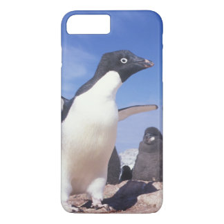 Coque iPhone 7 Plus L'Antarctique, Pygoscelis de pingouin d'Adelie