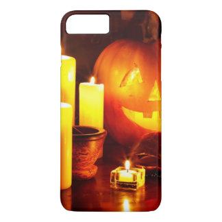 Coque iPhone 7 Plus Lanterne de citrouille de Halloween