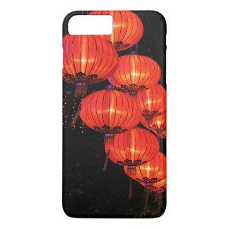 Coque iPhone 7 Plus Lanternes rouges chinoises