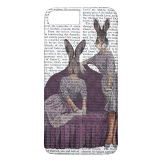 Coque iPhone 7 Plus Lapins dans Purple.png