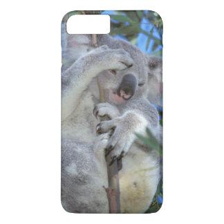 Coque iPhone 7 Plus L'Australie, koala Phasclarctos Cinereus)