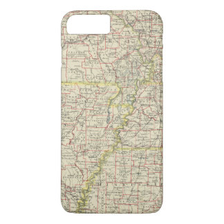 Coque iPhone 7 Plus Le Missouri, Arkansas, Kentucky, Tennessee