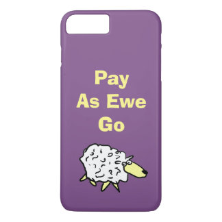 Coque iPhone 7 Plus Le salaire comme brebis disparaissent !