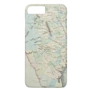 Coque iPhone 7 Plus Le Texas des Etats-Unis d'Amérique