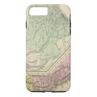 Coque iPhone 7 Plus Le Texas, la Californie