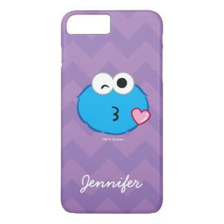 Coque iPhone 7 Plus Le visage de biscuit jetant un baiser   ajoutent