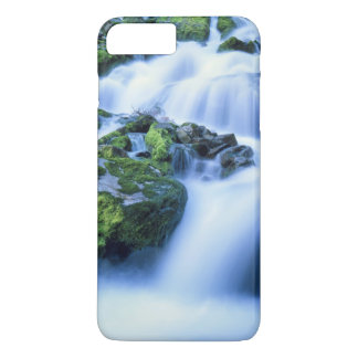 Coque iPhone 7 Plus Le Wyoming. LES Etats-Unis. Ressort périodique au