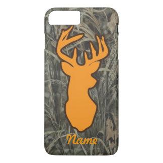 Coque iPhone 7 Plus Les cerfs communs oranges dirigent le cas plus de