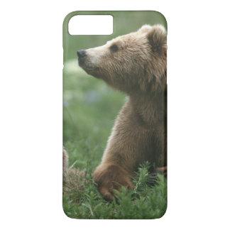 Coque iPhone 7 Plus Les Etats-Unis, Alaska, ours bruns de sous-adulte