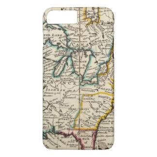 Coque iPhone 7 Plus Les Etats-Unis, Canada, Amérique du Nord