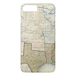 Coque iPhone 7 Plus Les Etats-Unis en juin 1861